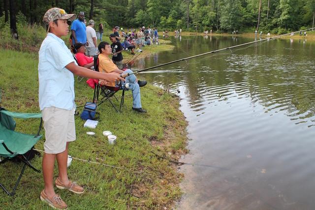 Kids fishing derby prizes