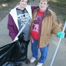 The mother-daughter volunteer tandem of Lori Taylor (left) and Carolyn Jones help with the Ocmulgee Alive! annual river cleanup.