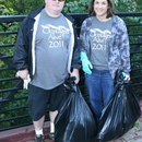 Robbie Womick and Robin Barnhill complete their volunteer efforts during the 2011 Ocmulgee Alive!