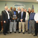 The MWA Board and Managers receive four industry awards from the Georgia Association of Water Professionals.